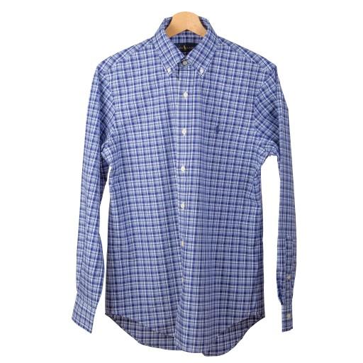 7f5235212 RALPH LAUREN POLO koszula męska kratka XL 6694166435 - Allegro.pl