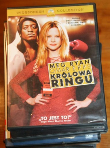 KRÓLOWA RINGU    DVD