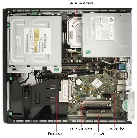 Komputer HP Elite 8200 i5 4x3,4 4GB WiFi Win7 FV