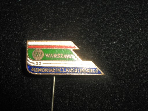 MEMORIAŁ im.KUSOCIŃSKIEGO WARSZAWA 1977