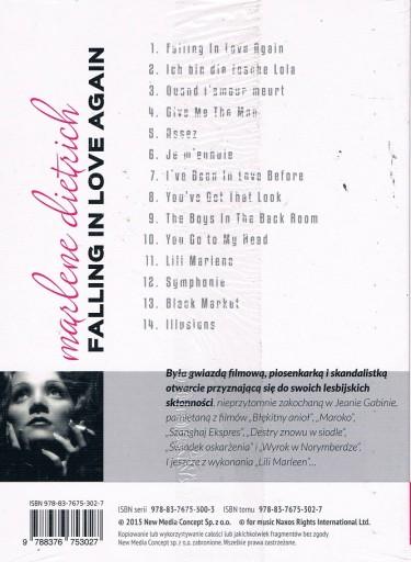 MARLENE DIETRICH: FALLING IN LOVE AGAIN [CD]