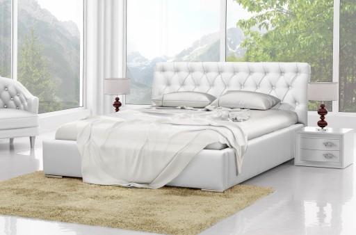 łóżko Do Sypialni Tapicerowanestelaż 180x200