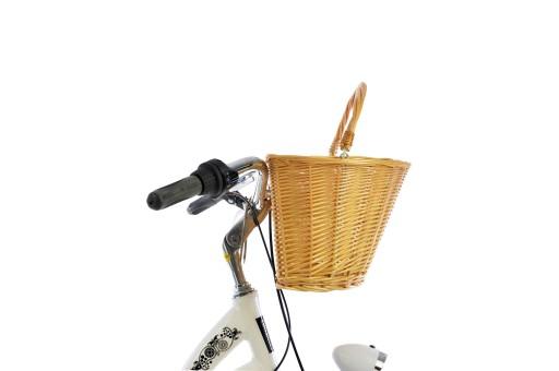 Stylowy Kosz Wiklinowy Romet Na Rower Zawieszany 6724928363 Allegro Pl