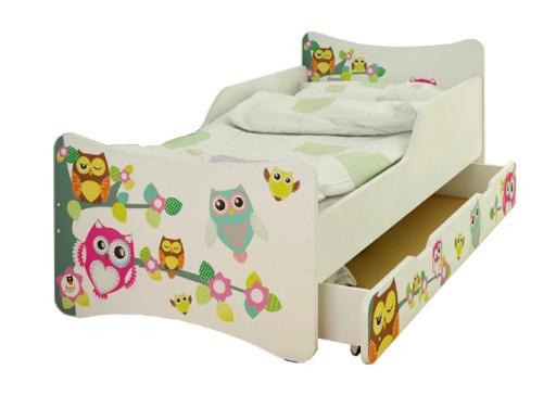 Bestforkids łóżkostelażmateracszuflada 70x140