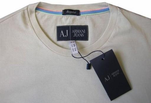 ARMANI JEANS KOSZULKA MĘSKA/T-SHIRT XXL -55% F.VAT 6827683826 Odzież Męska T-shirty LA DMEPLA-3