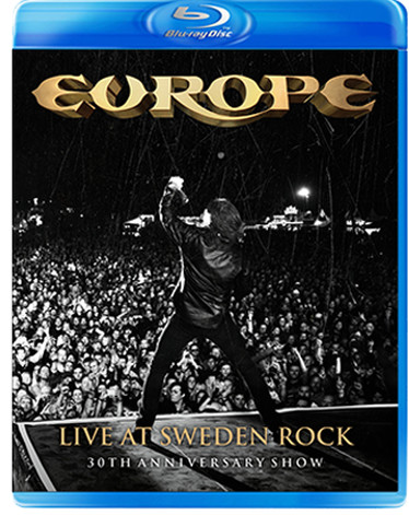 EUROPE Live At Sweden Rock Blu-Ray