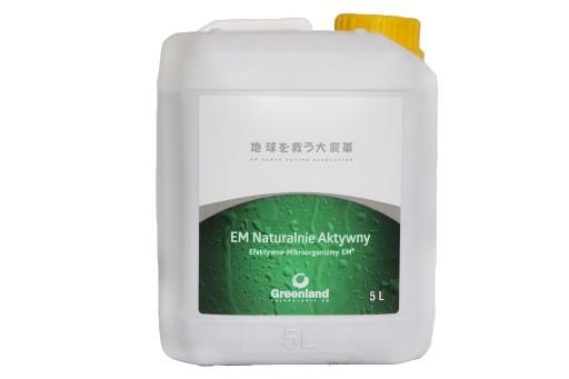 EM Naturalnie Aktywny Efektywne Mikroorganizmy 5l