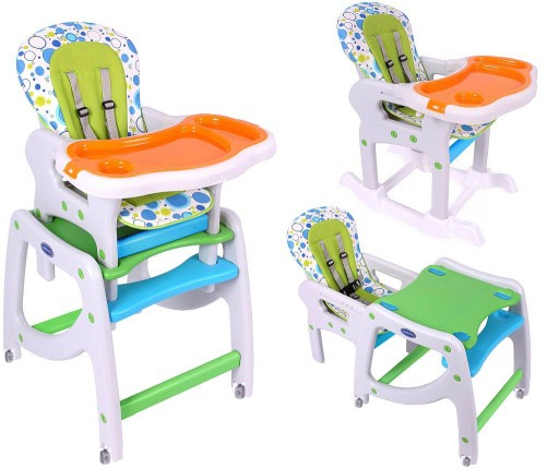 Krzeselko Do Karmienia Dzieci 3w1 Kidsplay 8532017574 Allegro Pl