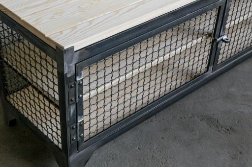 Szafka na buty loft industrialna 120 cm Producent