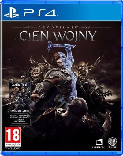 PS4 SHADOW OF WAR + DLC NOWA CIEŃ WOJNY