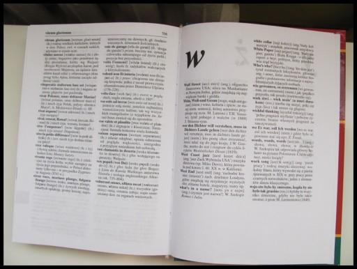 Słownik wyrazów obcych - twarda okładka, stan bdb
