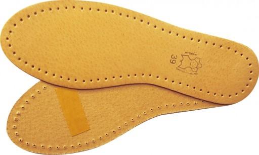 Skórzane wkładki do obuwia skóra naturalna 36-46