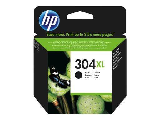 HP Tusz 304XL Black oryginalny N9K08AE