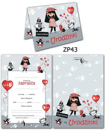 Zaproszenia Urodzinowe Dla Dzieci Na Urodziny 7242749267 Allegropl