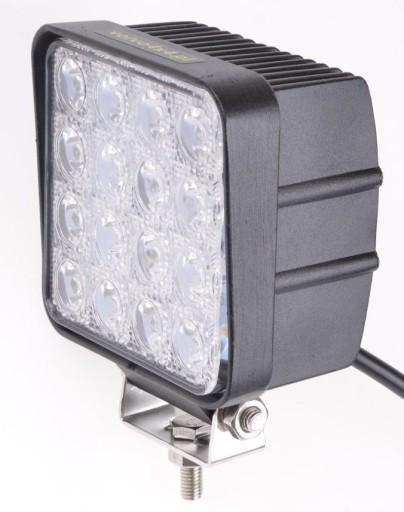 LAMPA ROBOCZA 16x LED 48W 12V 24V KOMBAJN CIĄGNIK