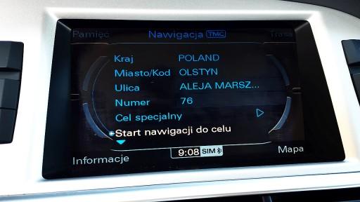 Audi MMI 3G 3G Plus PL menu lektor mapa Eu 2019