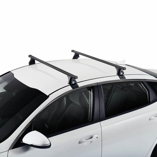 Bagażnik Dachowy Belki Cruz Audi A4 B8 Sedan 08 15 7563424806