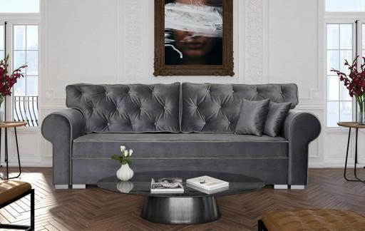 Kanapa Sofa Paula 3r Rozkładana Pikowana Bonel