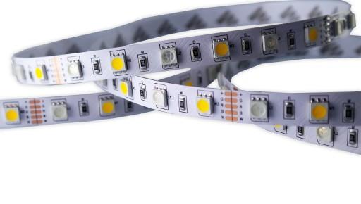 Taśma LED 5050 300 SMD RGBWW kolor biały ciepły 5m