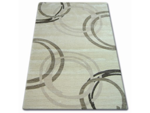 Dywany łuszczów Shadow 180x270 Koła Krem At413