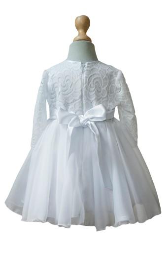64ae76db2d Sukienka biała koronka wesele chrzest wizytowa 68 Marka Inna marka