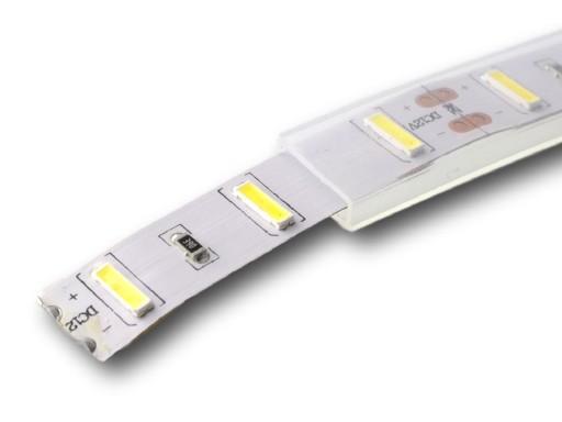 Wodoodporny profil osłona silikonowy LED 12mm IP68