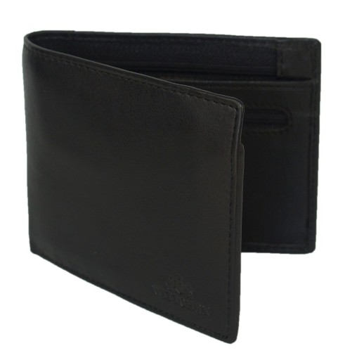 e6344bc4d6fb7 Wittchen 14-1-040 czarny męski portfel slim 6 kart 7651001436 ...