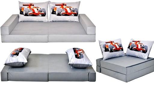 Kanapa Sofa łóżko Dla Dzieci Materac Fotel 12cm