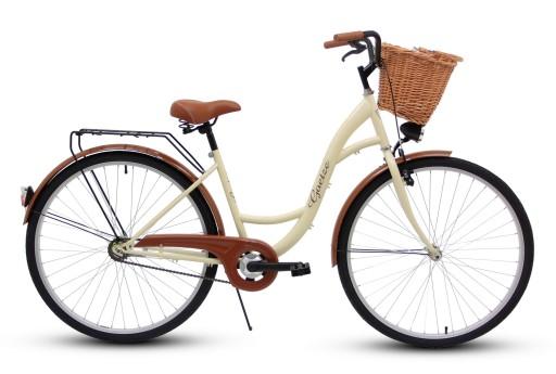Damski rower miejski GOETZE 28 eco damka + kosz!!!