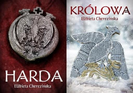 HARDA + KRÓLOWA komplet E. CHEREZIŃSKA o. twarda
