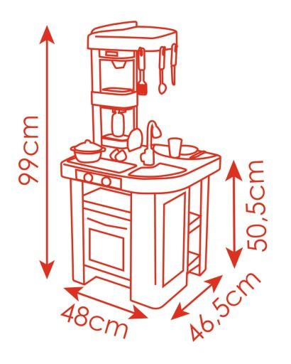 Gorąca Wyprzedaż Smoby Kuchnia Mini Tefal Bubble Magic Boil