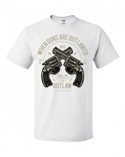 KOSZULKI GUN 10768843396 Odzież Męska T-shirty WK FQJSWK-1