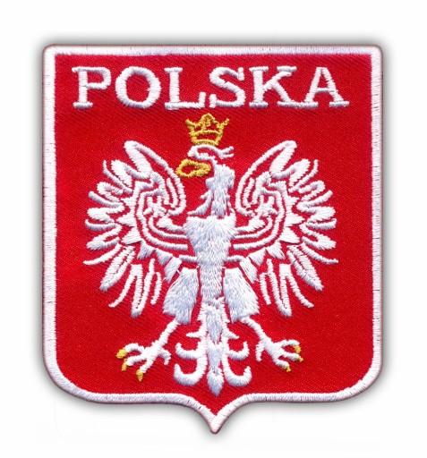 Naszywka - Godło Polski - POLSKA HAFT