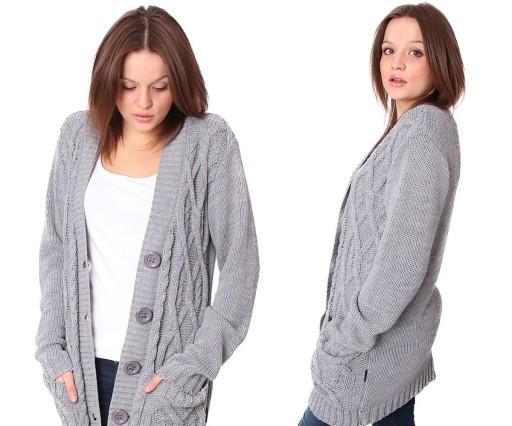 Pasmantex Torino Rozpinany Sweter Kardigan R S M 7196141446 Allegro Pl