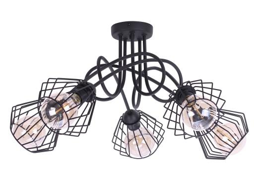 allegro lampy sufitowe z drutu