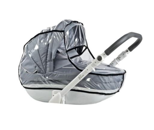 Wózek dziecięcy Roan Bass Soft Blue Hawaii 2w1