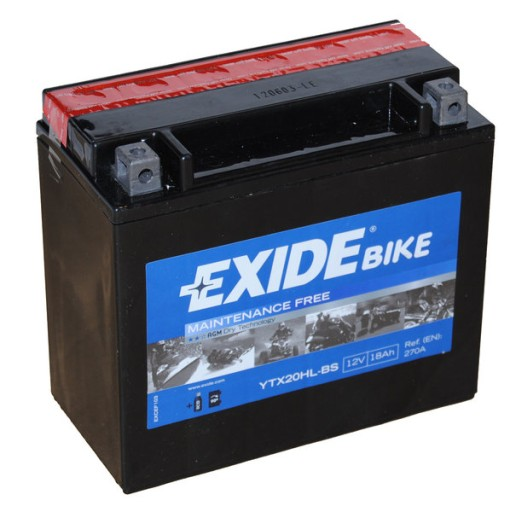 Harley Davidson FLSTBI   akumulator EXIDE  f .VAT