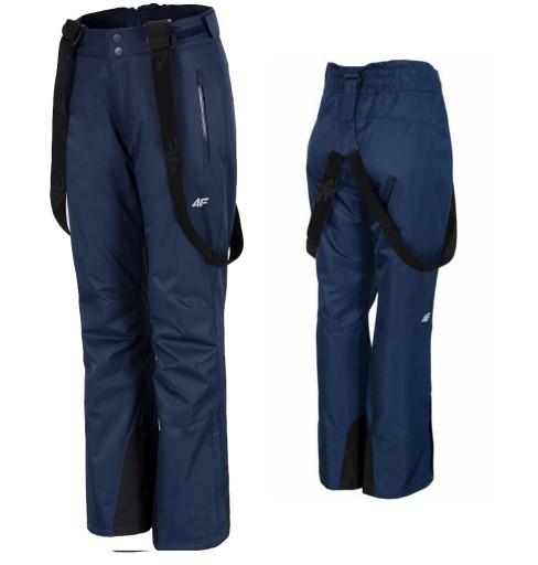 Spodnie Narciarskie Damskie Spdn001 4f Granat Xxl 7744862202 Allegro Pl