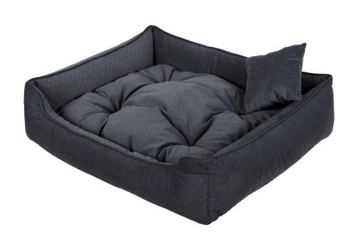 7fe814319c8667 legowisko kanapa kojec sofa dla psa kota 90/75 B Kolor beżowy odcienie  czerwieni odcienie