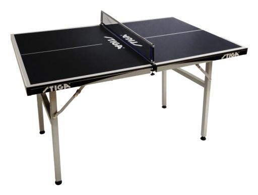 Stół do tenisa stołowego STIGA MINI BLACK z siatką