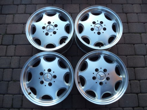 Mercedes W201 W124 W202 Felgi Aluminiowe 15 F Vat 6931343350