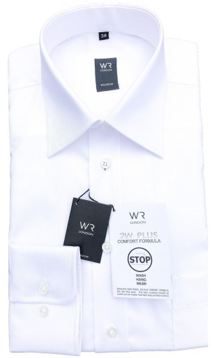 WILLSOOR Elegancka Koszula Biała Garnitur ! 40%! 6628937884  kZtIx