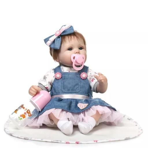 Urocza Dziewczynka Lalka Reborn Swiateczna Cena 7605163480 Allegro Pl
