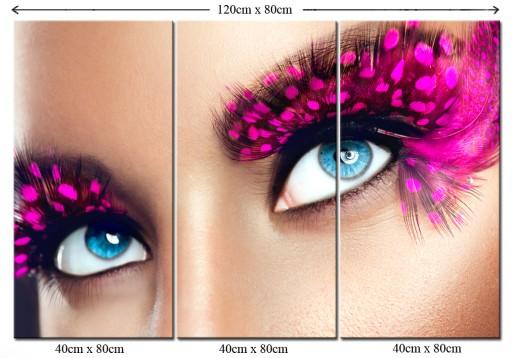 Obraz Salon Urody Makijażu Make Up Kobieta