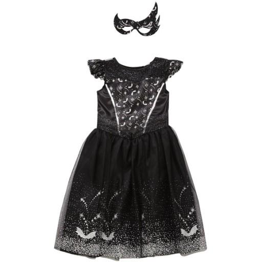 Czarny Łabędź strój karnawałowy kostium nowy 3-4 l