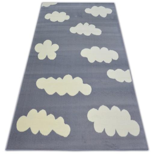 Dywany łuszczów 120x160 Dla Dzieci Gwiazdy Chmurki