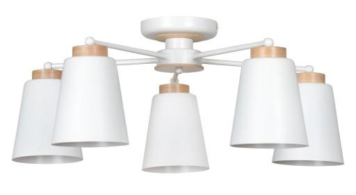 lampy sufitowe styl norweski