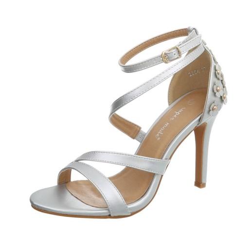 sandały na obcasie eleganckie