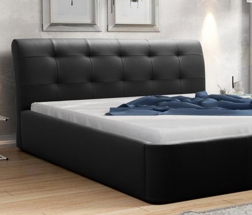 łóżko Z Materacem Do Sypialni 160 X 200 Pojemnik
