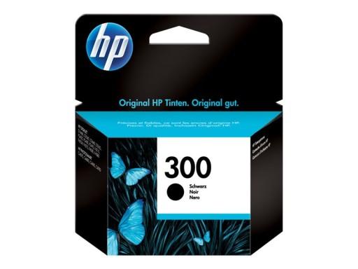 HP Tusz 300 Black oryginalny CC640EE